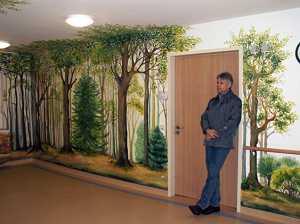 Wandmalerei for Raumgestaltung altenheim